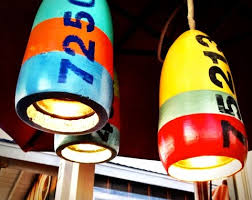Nautical Pendant Light Diy Lamps Nautical Buoy Hanging Light Pendants Completely Coastal