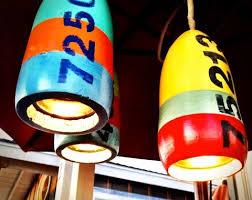 Nautical Pendant Light Diy Lamps Nautical Buoy Hanging Light Pendants Completely Coastal