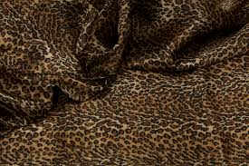 leopard fabric 40 yard satin fabric roll leopard print at cv linens cv linens