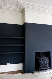 home black wall paint interior design ideas homes