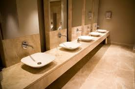online tips for commercial bathroom design