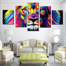 100 lion decor home 2017 home decor hd print animal art