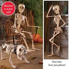 poseable skeleton posable 4ft skeleton decor from collections etc
