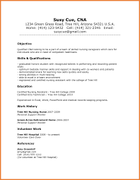 Resume Sle Objectives Sop Proposal - gallery of entry level nursing assistant resume