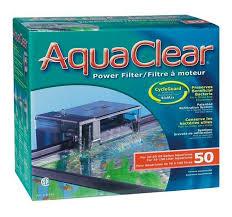 hagen aquaclear 50 power filter 757l hr 76 190l