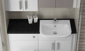 White Gloss Bathroom Furniture Gorgeous Fitted Bathroom Furniture White Gloss With White Gloss