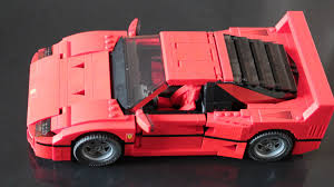 lego ferrari lego ferrari f40 2016 hands on review by car magazine