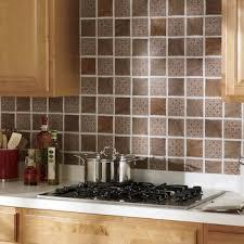 Kitchen Backsplash Peel And Stick Self Stick Medallion Backsplash Tiles From Montgomery Ward Si452474