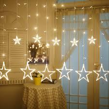 guirlande lumineuse deco chambre yiyang étoiles led guirlande lumineuse salon chambre de