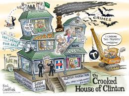 Hillary Clintons House The Crooked House Of Clinton Grrrgraphics On Wordpress