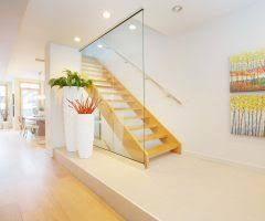 Chrome Banister Good Looking Stair Banister Ideas With Metal Railing Lighted Stairs
