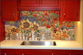 Colorful Tile Backsplash  Best Backsplashes Images On Pinterest - Colorful backsplash tiles