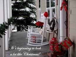 christmas porch decorations porch decorating pictures winter