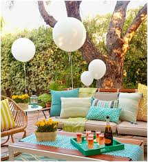 backyards enchanting decorations for backyard birthday party