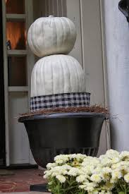 hello fall front porch pumpkin topiaries southern state of mind
