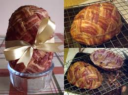 stuffed easter eggs a heart attack on easter bacon easter egg stuffed with sausage
