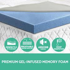 Bedroom Cool Mattress Topper For Tempurpedic Mattress Topper King Christopher Knight Home 4inch