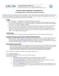 Physician Assistant Resume Templates 6 Best Images Of Physician Assistant Resume Template Certifying