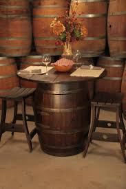 Whiskey Barrel Chairs Furniture Whiskey Barrel End Table Vintage Whiskey Barrel