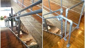 pipe cable railing design deck railing ideas
