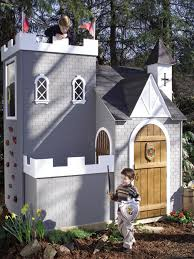 outside playhouse plans outdoor rooms add livable space hgtv