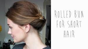 low bun hairstyles short hair hairstyles ideas