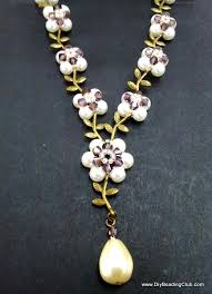 pearls necklace making images Jewelry making for beginners jpg