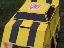 bumble bee pinata transformers bumblebee costume