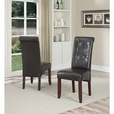 dining room formal dining chairs wingback dining chair white