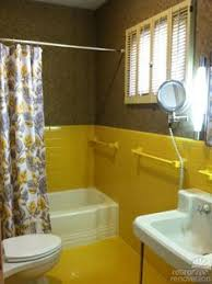 yellow tile bathroom ideas grey and yellow tile bathroom with vintage pinteres modern home