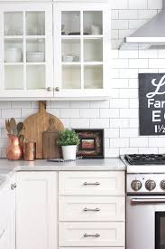 diy painting kitchen cabinets antique white dollar store tutorial turn cutting board into a faux