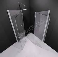 fold away shower enclosure via kermi walk in shower enclosures