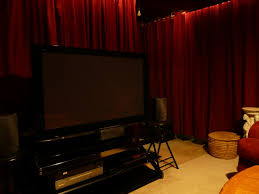 home theater curtains uberfy u0027s home theater gallery basement theater 21 photos