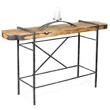 Wood Sofa Table by Wrought Iron Console Tables U0026 Sofa Tables Shop Online