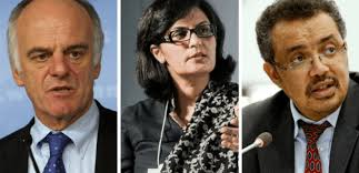 and the top 3 who director general candidates are u2013 dr tedros