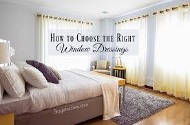 window dressings tips for choosing curtains and window dressing for your home