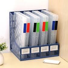 classement papier bureau rangement bureau papier transparent en plastique transparent