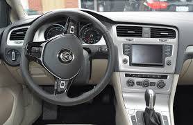 volkswagen pickup interior vw golf offers comfort in a reliable hatch wheels ca