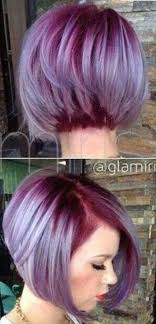 show me hair colors wild orchid roots melting into a steel blue and silver lavender