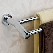 ceeley double towel bar bathroom