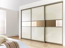 Sliding Doors For Bedroom Furniture Beautiful A Mirror Glass Sliding Doors Wardrobe Ideas