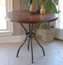 Antique Bistro Table Wrought Iron Woodland Bistro Table With 36in Top