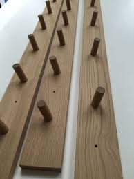 american oak coat rack chris colwell design