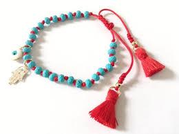 lucky bead bracelet images Gold hamsa evil eye bracelet lucky charm friendship bead bracelet jpg