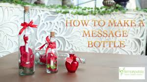 diy message in a bottle diy message in a bottle gift