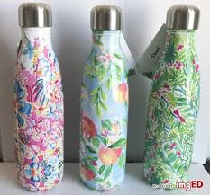 lilly pulitzer starbucks swell s u0027well limited edition water