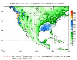 United States Climate Regions Map by Recent Precipitation And Temperature Including Normals And