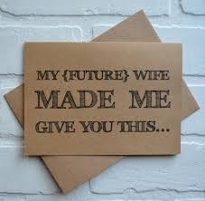 my future wife made me will you be my groomsman card funny card