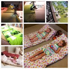 pillow bed for kids wonderful diy pillow mattress for kids