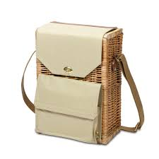 cheese basket time corsica insulated wine and cheese basket